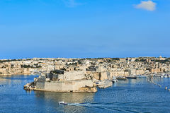 Grand Harbor in Valetta, Malta Royalty Free Stock Images