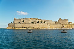 Grand harbour bastions. Valetta. Malta Royalty Free Stock Photo