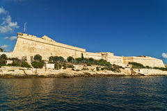 Grand harbour bastions. Valetta. Malta Royalty Free Stock Images