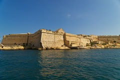 Grand harbour bastions. Valetta. Malta Royalty Free Stock Image