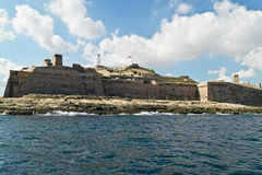 Grand harbour bastions Royalty Free Stock Image