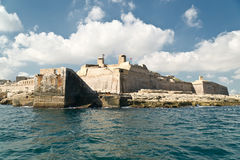 Grand harbour bastions Royalty Free Stock Images