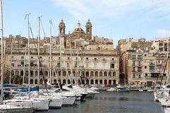 Grand Harbour on the island of Malta Stock Photography