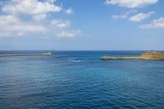 Grand Harbour and Ricasoli Fort in Kalkara - Valletta, Malta Royalty Free Stock Image