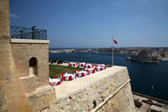Grand Harbour from the Saluting Battery Royalty Free Stock Photos