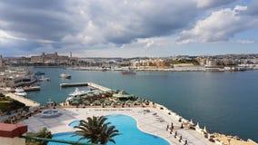 Grand Harbour Valeta Malta Royalty Free Stock Photos