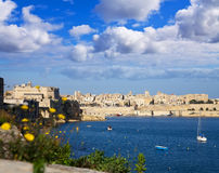 Grand Harbour and Valletta Royalty Free Stock Photos