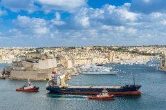 The Grand Harbour Valletta Stock Image