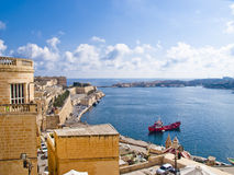 Grand Harbour of Valletta Stock Photography