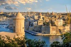 Grand Harbour, Valletta, Malta Stock Photography