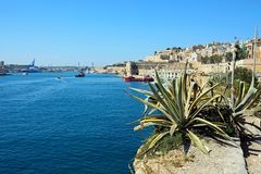 The Grand Harbour, Valletta. Royalty Free Stock Photography