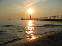 Grand Haven State Park Royalty Free Stock Photo