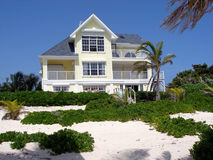 Grand Home On Grand Cayman Royalty Free Stock Photos