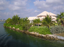 Grand Homes on Grand Cayman Royalty Free Stock Image