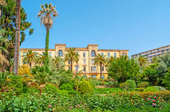 The Grand Hotel of Ajaccio Stock Images