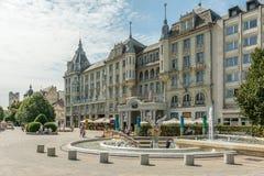 Grand Hotel Aranybika Royalty Free Stock Photography