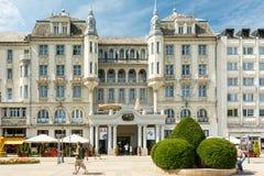 Grand Hotel Aranybika Royalty Free Stock Image