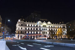 Grand Hotel Boulevard Stock Images