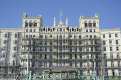 The Grand Hotel. Brighton. England Stock Images