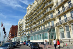 The Grand Hotel, Brighton, England, UK. Stock Photography