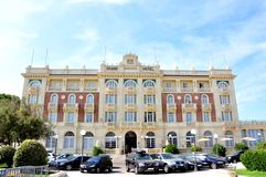 Grand hotel in Cesenatico, Italy Stock Image