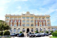 Grand hotel in Cesenatico, Italy Stock Image