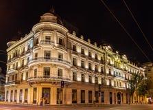 Grand Hotel du Boulevard in Bucharest Royalty Free Stock Photos