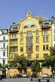 Grand Hotel Europe in Prague - Czech Republic Stock Image