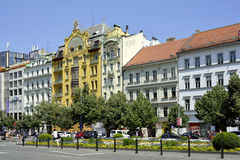 Grand Hotel Europe in Prague - Czech Republic Stock Photos