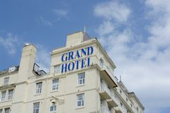 Grand Hotel Llandudno Royalty Free Stock Photo