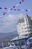 Grand Hotel in Llandudno  Stock Image