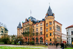 Grand Hotel in Lund, Sweden, is one of city's oldest and most noteworthy hotels Royalty Free Stock Image