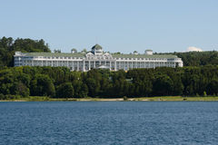 Grand Hotel on Mackinac Island Stock Photography