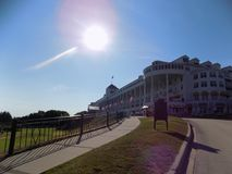 The Grand Hotel, Mackinac Island royalty free stock photo