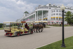 Grand hotel Mackinac island Michigan Stock Images