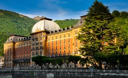 Free Grand Hotel Of San Pellegrino Terme Italy Royalty Free Stock Images - 170272639