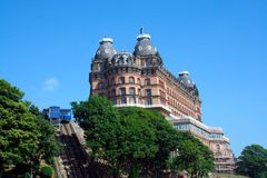 Grand Hotel Scarborough Royalty Free Stock Image