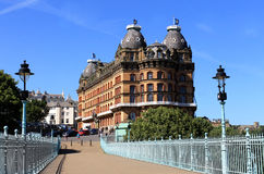 Grand Hotel in Scarborough Stock Image