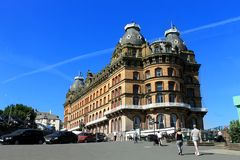 Grand Hotel in Scarborough Royalty Free Stock Photography