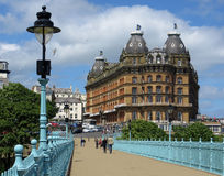 Grand Hotel, Scarborough stock photo