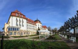 Grand Hotel in Sopot. Grand Hotel - historic building in Sopot, Poland Stock Photo