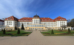 Grand Hotel in Sopot. Grand Hotel - historic building in Sopot, Poland Royalty Free Stock Photo