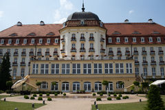 Grand Hotel in Sopot, Art Noveau style mansion. Stock Images
