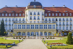 Grand Hotel in Sopot, Poland Stock Photos