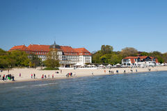 Grand Hotel in Sopot Stock Photo