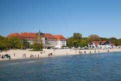 Grand Hotel in Sopot Stock Photo