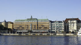The Grand hotel in Stockholm Stock Photos