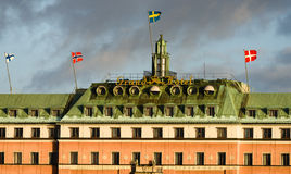 Grand Hotel in Stockholm Stock Images