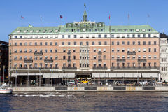 Grand Hotel in Stockholm - Sweden Royalty Free Stock Photos