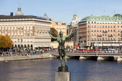 Grand Hotel in Stockholm - Sweden Stock Photo